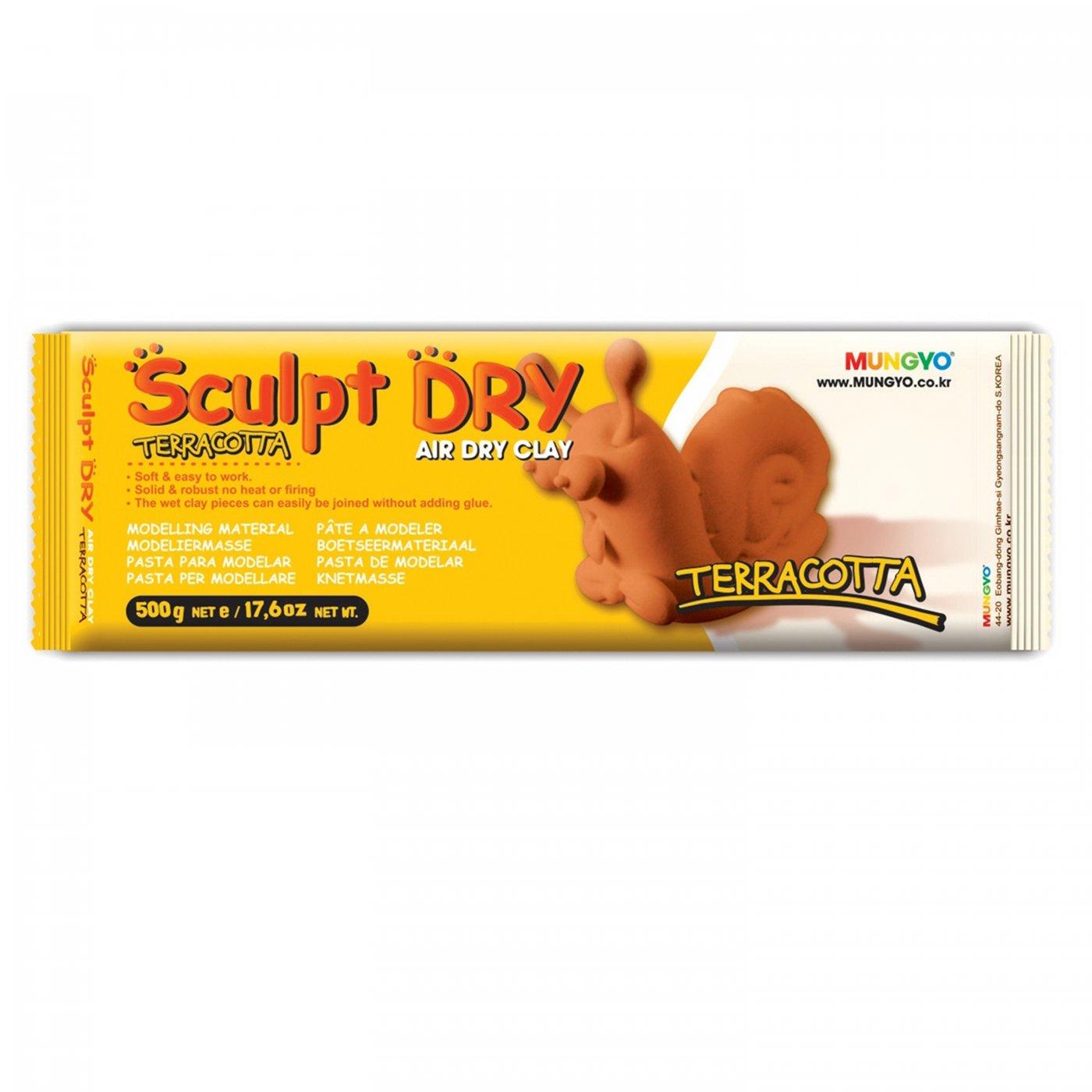 Samotvrdnúca hlina Sculpt Dry 500 g terrakota  e870db0b9b9