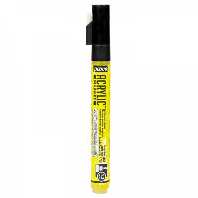 ACRYLIC MARKER 1,2 mm, 41 Fluo yellow