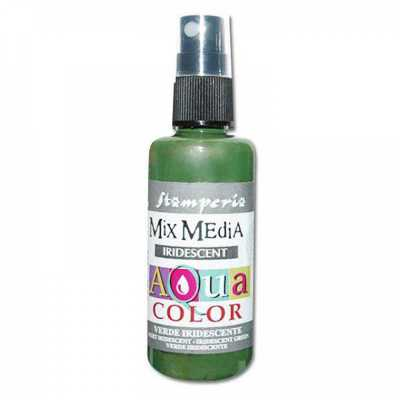 Aquacolor sprej, 60 ml, Iridescent green