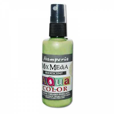 Aquacolor sprej, 60 ml, Iridescent light green