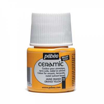 Ceramic 45 ml, 22 Orange yellow