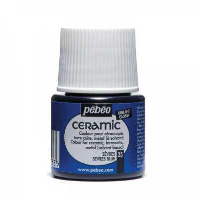 Ceramic 45 ml, 25 Sevres blue