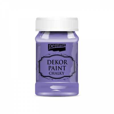 Dekor Paint Soft 100 ml, fialová