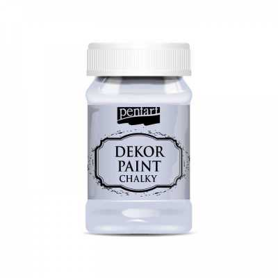 Dekor Paint Soft 100 ml, holubia sivá