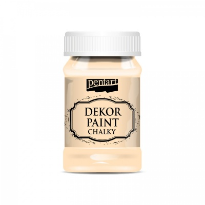 Dekor Paint Soft 100 ml, marhuľová