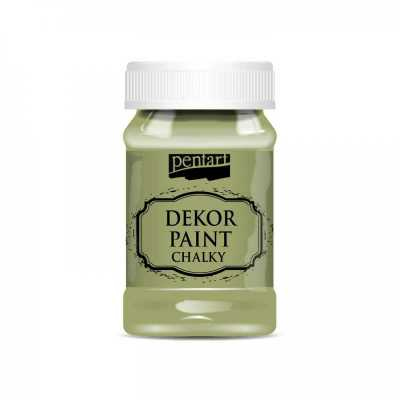Dekor Paint Soft 100 ml, olivová