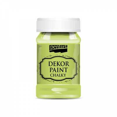 Dekor Paint Soft 100 ml, pistáciová