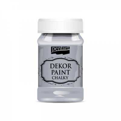 Dekor Paint Soft 100 ml, sivá