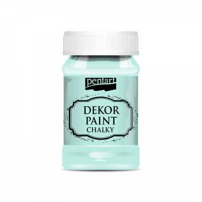 Dekor Paint Soft 100 ml, zelená patina
