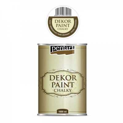 Dekor Paint Soft 1000 ml, slonovinová