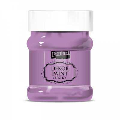 Dekor Paint Soft 230 ml, černica