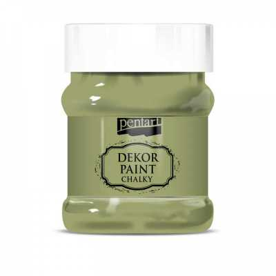 Dekor Paint Soft 230 ml, olivová