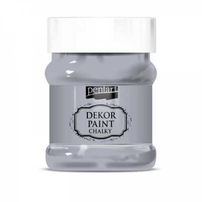Dekor Paint Soft 230 ml, šedá
