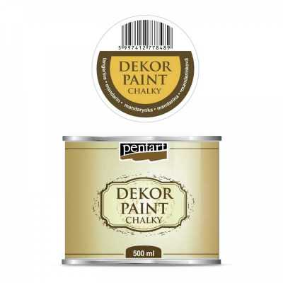 Dekor Paint Soft 500 ml, mandarinková