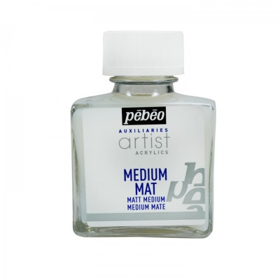 Matné médium, 75 ml