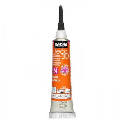 P.BO Deco 3D,20 ml, gloss, 124 Orange