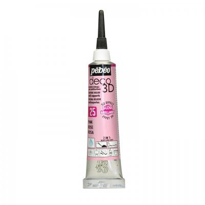 P.BO Deco 3D,20 ml, gloss, 125 Pink