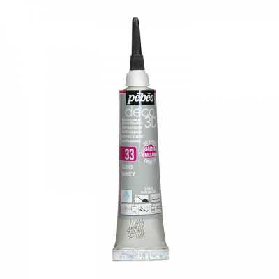 P.BO Deco 3D,20 ml, gloss, 133 Grey