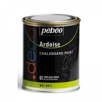 P.BO Déco Chalkboard paint, 250 ml, 01 Blackboard