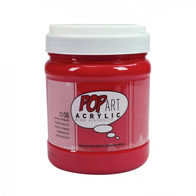 POP ART Acrylic 700 ml, 06 Primary magenta