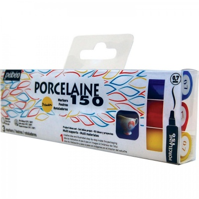 Porcelaine 150 Marker (1,2 mm), sada 3 ks