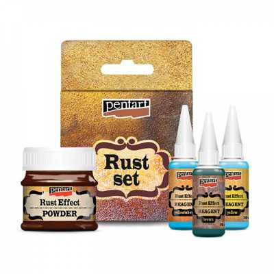 Rust effect set, hrdza