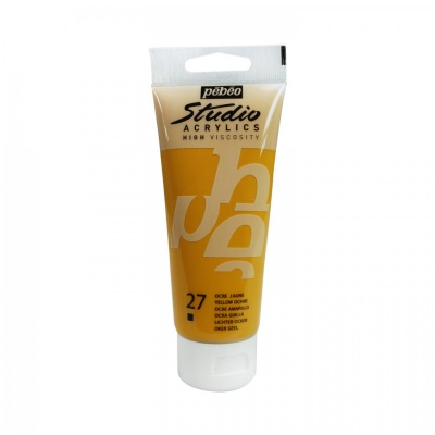 Studio Acrylics 100 ml, 27 Yellow ochre