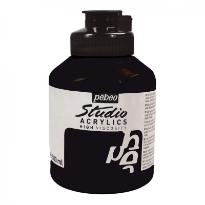 Studio Acrylics 500 ml, 29 Burnt umber