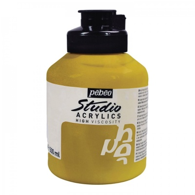 Studio Acrylics 500 ml, 352 Gold
