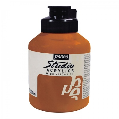 Studio Acrylics 500 ml, 355 Copper
